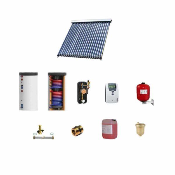 Kit panou solar apa calda menajera pentru 4 persoane
