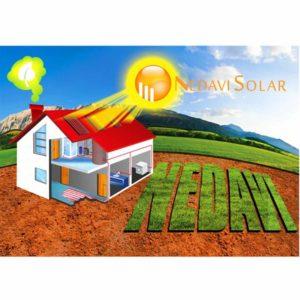 Kit sistem incalzire apa cu panou solar pentru 4-6 persoane NedaviSolar