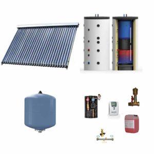 Kit sistem incalzire apa cu panou solar pentru 4-6 persoane Nedavi Solar