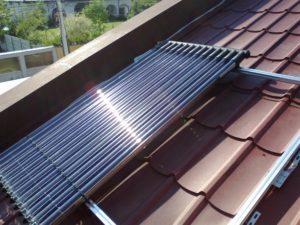 Montare panou solar Westech