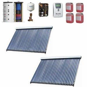 Panou Solar Westech pentru 10 persoane pentru apa calda menajera