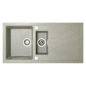 Chiuveta bucatarie Montebella Azalea1000x500mm, Granit