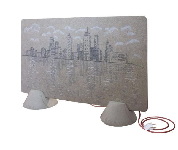 Panour radiant Uden ceramic 500w