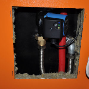 cazan pe peleti biodom 34 pompa bypass optimclima