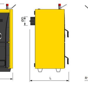 centrala termica pe combustibil solid nova 50