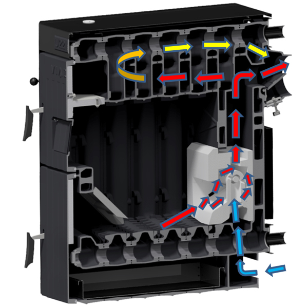 centrala termica pe lemne viadrus U22 Economy 30 kW fante optimclima