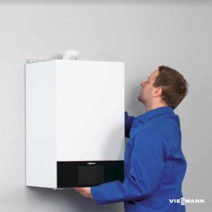 Centrala termica Vitodens 100-W, 25 kW, pentru incalzire