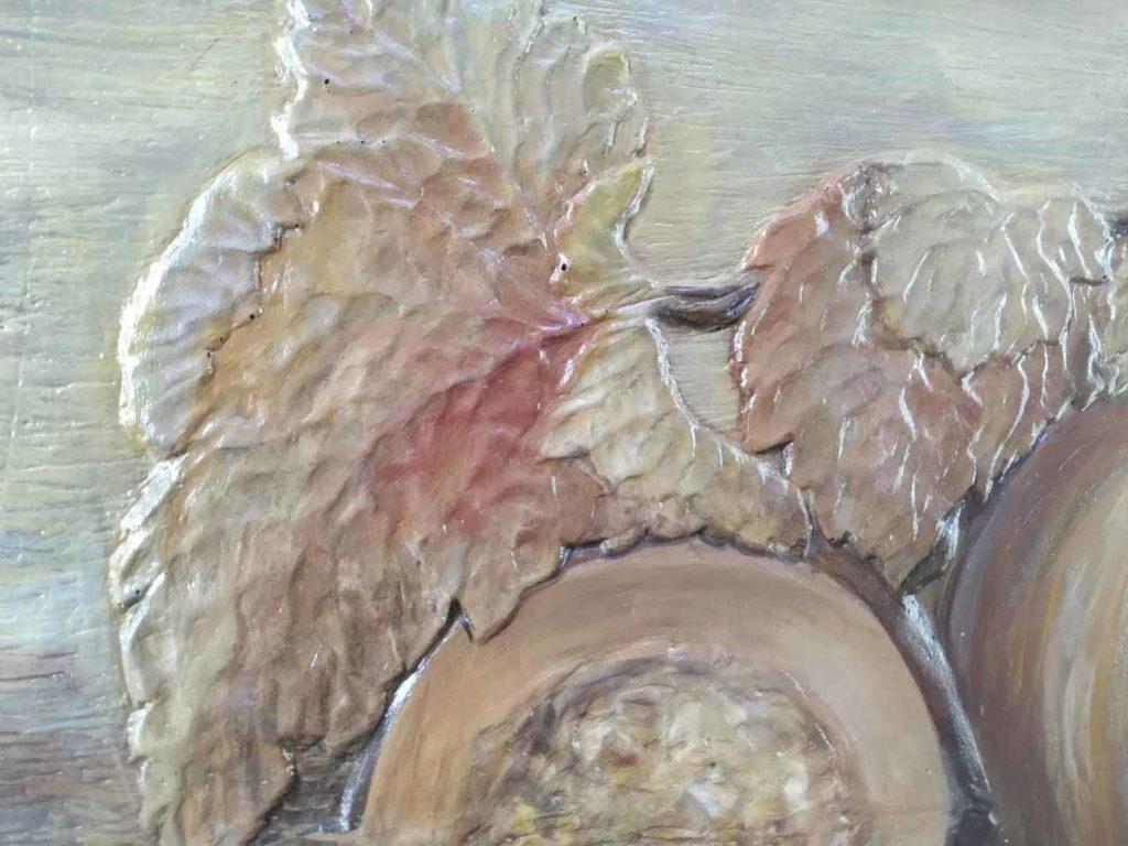 Panou-Radiant--Ceramo-Granit-600W-Dovleac-textura
