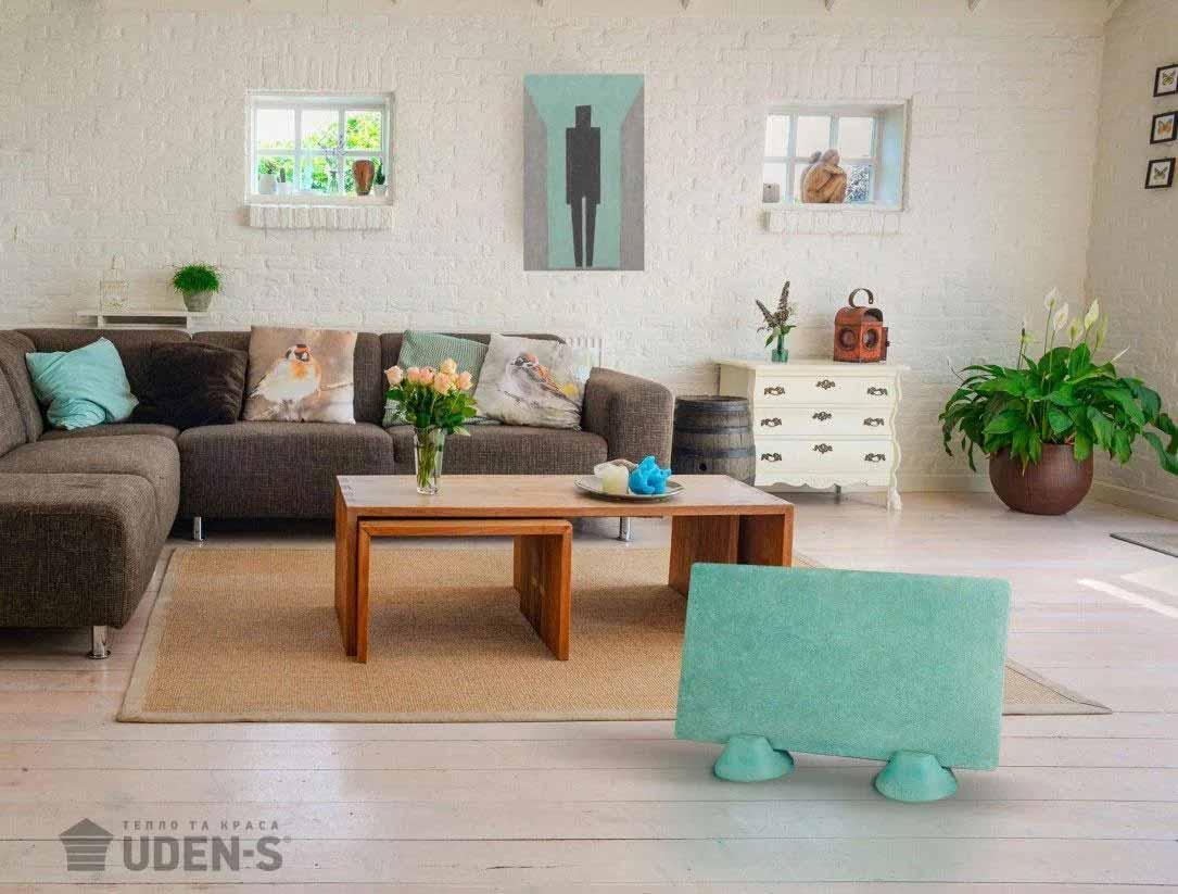 Panou-Radiant-Ceramo-Granit 600W-Filigrin-verde-Interior