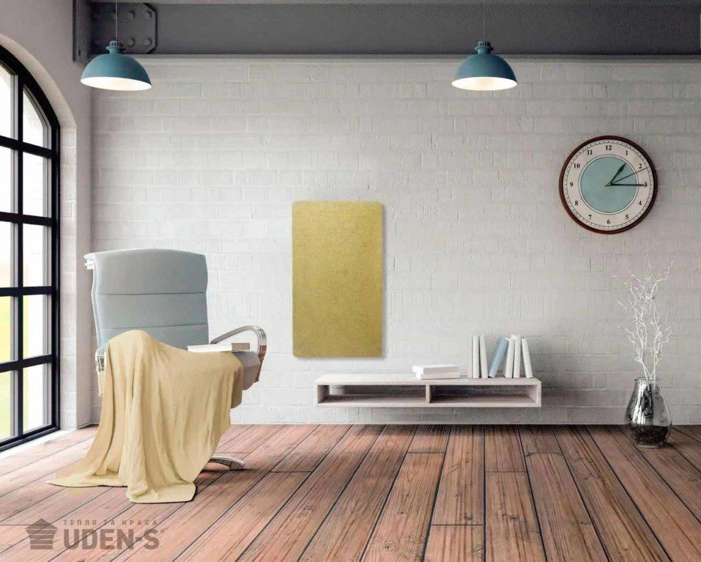 Panou-Radiant-Ceramogranit-Filigri-galben-interior
