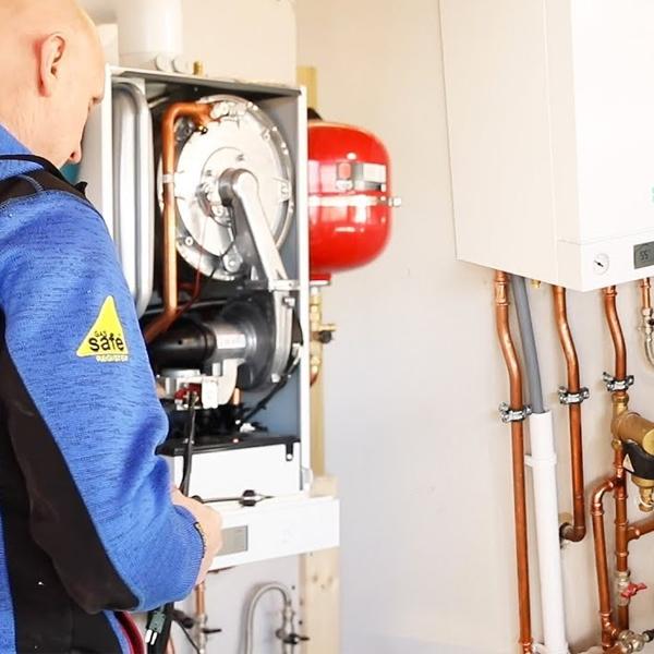 centrala termica Viessmann Vitodens 100-W cu boiler vitocell 100-W 200 litri optim clima