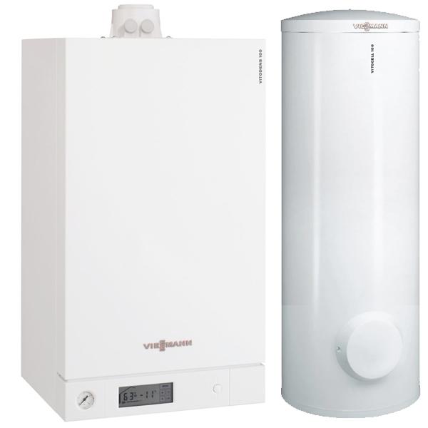 centrala termica Viessmann Vitodens 100-W cu boiler vitocell 100-W 200 litri