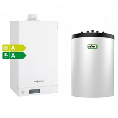 centrala termica viessmann vitodens 100 boiler 120 litri