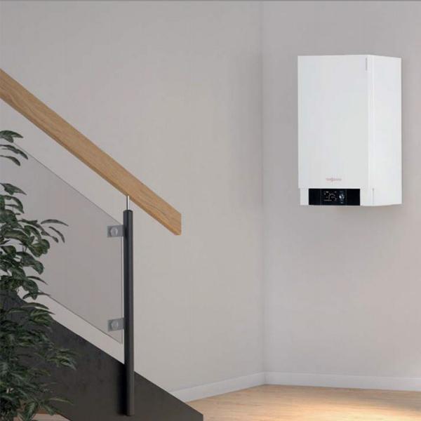 centrala termica viessmann vitodens 200-W cu boiler vitocell 300 litri optimclima