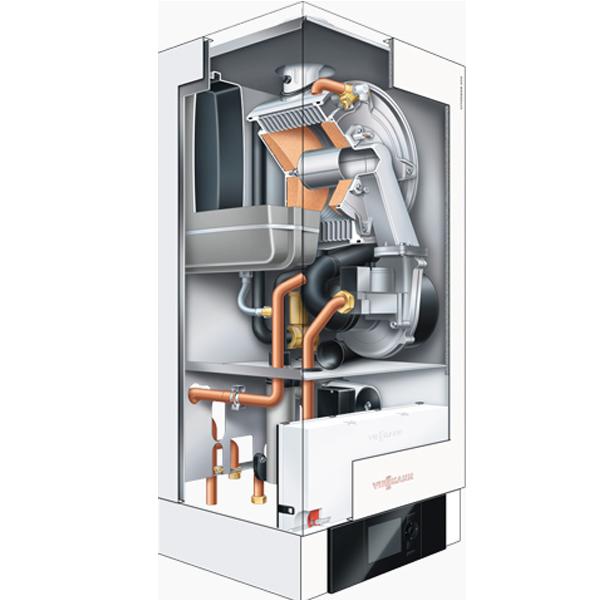 centrala termica viessmann vitodens 200-w 35 kw optimclima