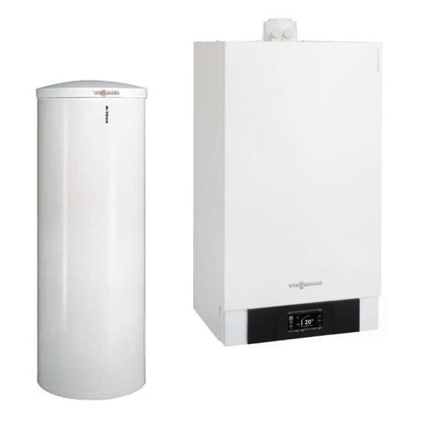centrala termica viessmann vitodens cu boiler vitocell 300 litri optim clima