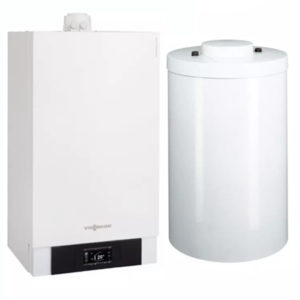 centrala termica viessmann vitodens cu boiler vitocell optimclima