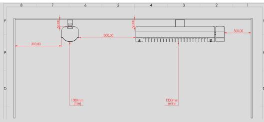 schema de instalare incalzitor de terasa