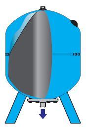 Vas de expansiune pentru solar Aqua System 18 L schita