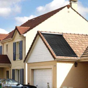 Panou-solar-Ferroli-montat-pe-casa